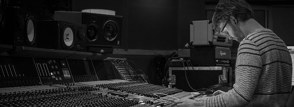 Music producer Tony Draper Parr Street Studios